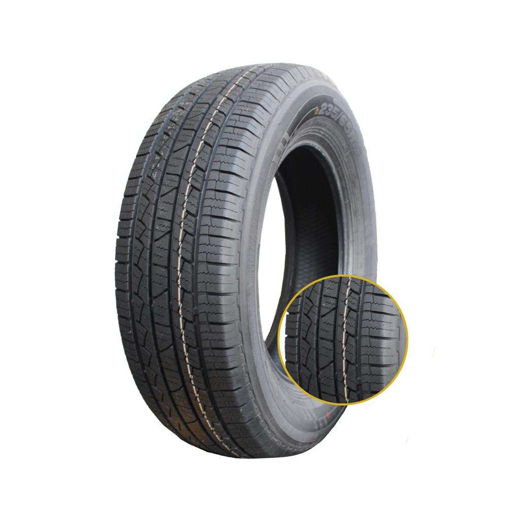 DOT ECE certified car tyres 235/60/16 tubeless tire for sale