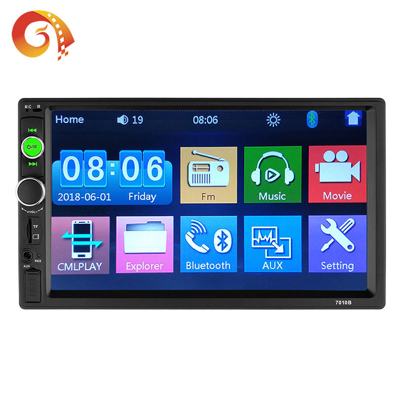 High Quality Low Price 2 Din 7 Inch Car MP5 Player MIrror Link And Built-in Bluetooth Car Radio