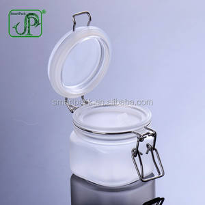 220ml Luftdichten Bereifte Glas PET Kilner Clip Top Jar