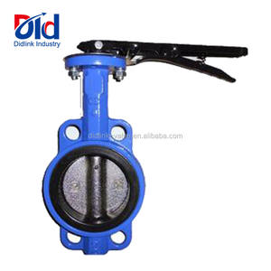 Actuated 4 Inch Italy 10 Lug Cryogenic Grooved Wafer Type Cast Iron Butterfly Valve Manufacturerstainless steelCustoms Data