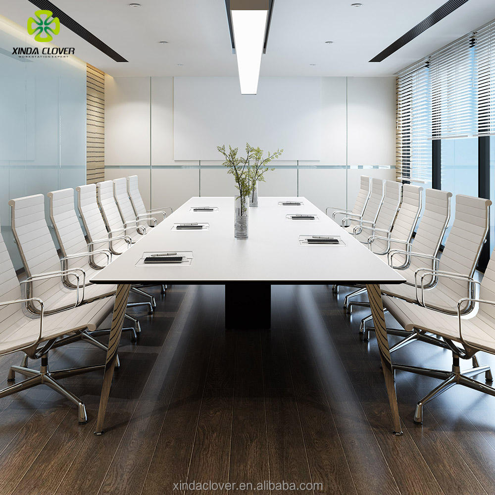 2018 hot sale modern 7person conference table