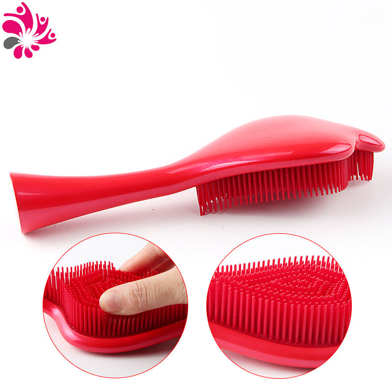 New Cobra Shape Design Plastic Hair Comb Hair Brush