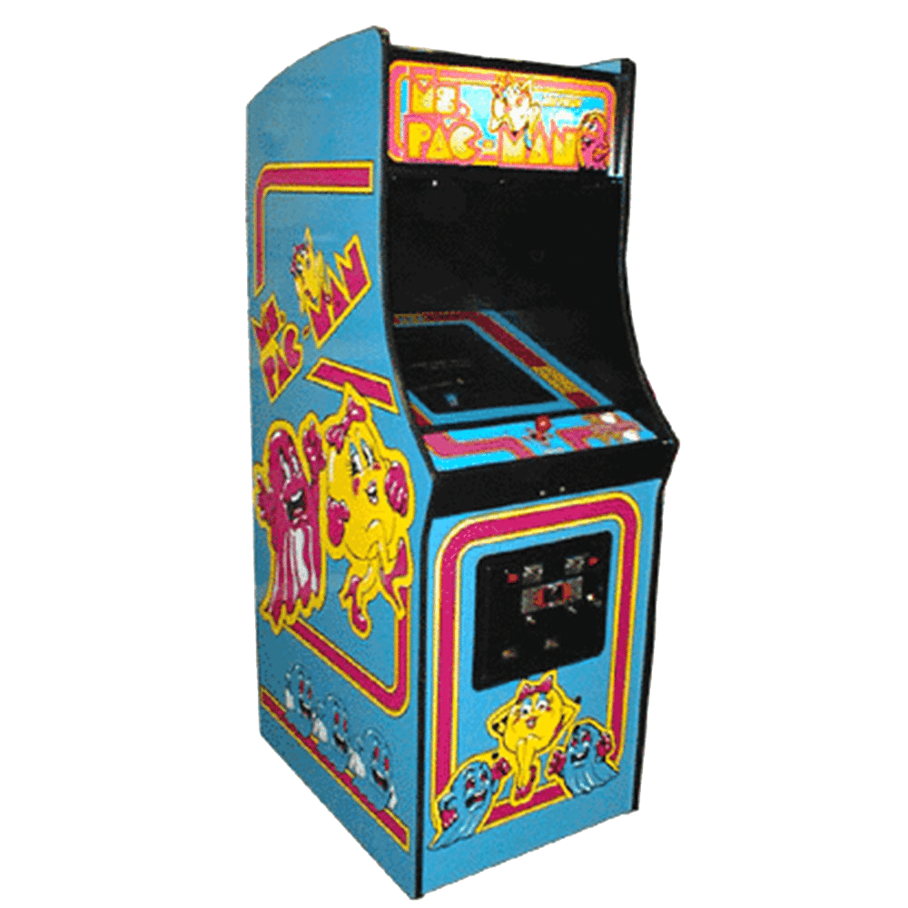 Coin operated Ms PAC-MAN Mini Arcade Cabinet Video Game Machine|Factory Price Pac-Man Wood Arcade Cabinet For Sale