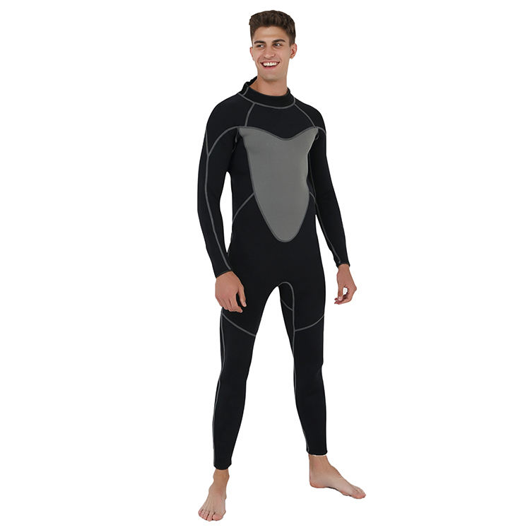 5mm Neoprene CR Spearfishing Men Long Sleeve Diving Wetsuit