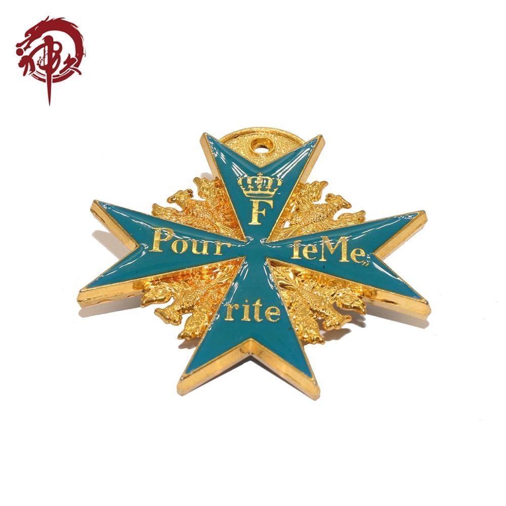 Factory Reproduced First World War Military Medal Badges Pour le Merite Also Named The Blue Max