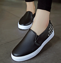 Leather latest flat ladies shoes wholesale china women shoes