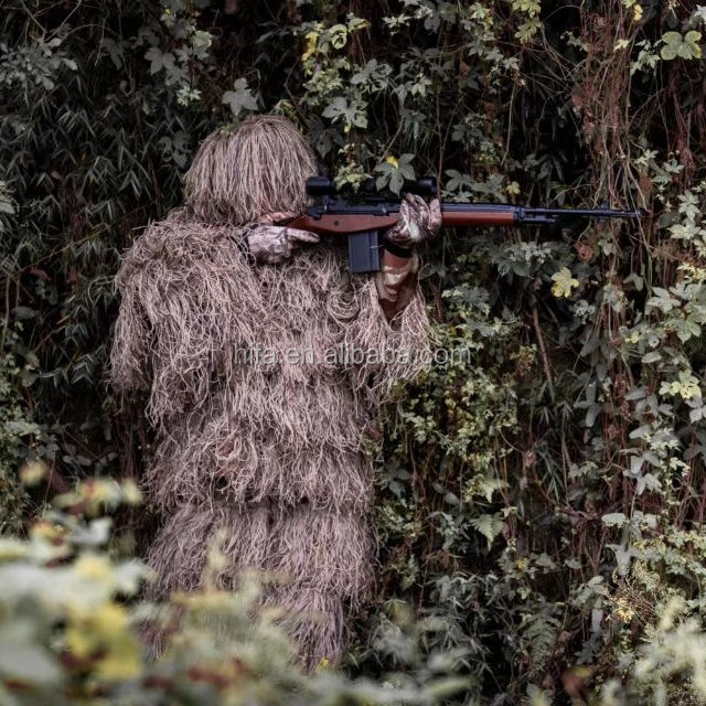 Hunting Leaf Ghillie Suit CS hunting blind suit/camouflage blinds