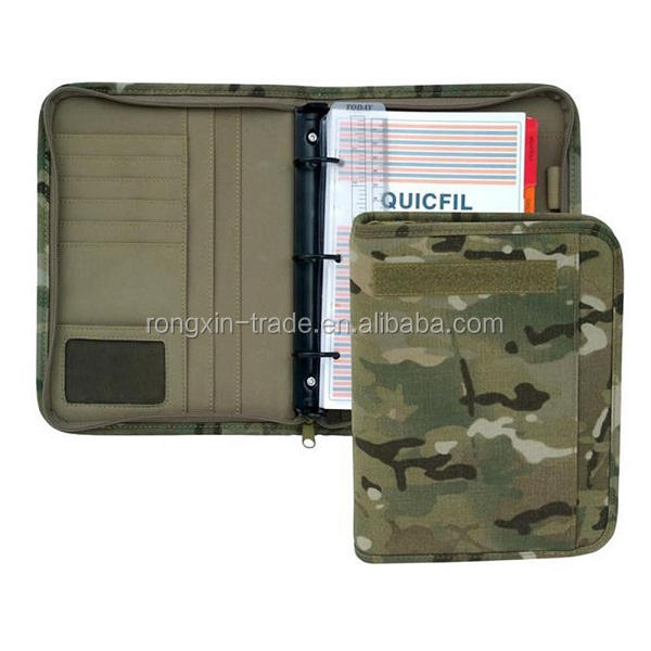 Military Padfolio Day Planner Notebook Cover