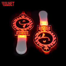 SUNJET Party memory glowing event led bars custom logo led light stick