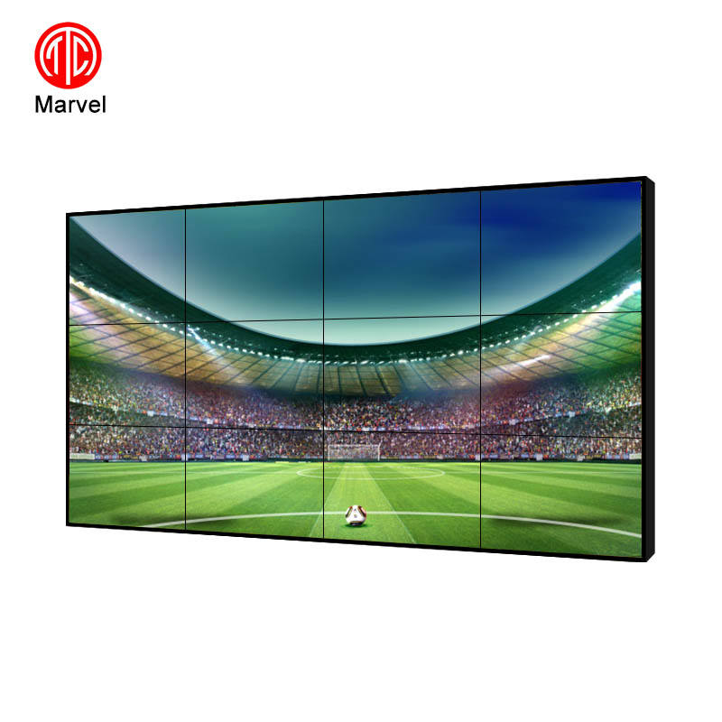 55inch Small bezel lcd tv wall video wall led advertising screen 2x2