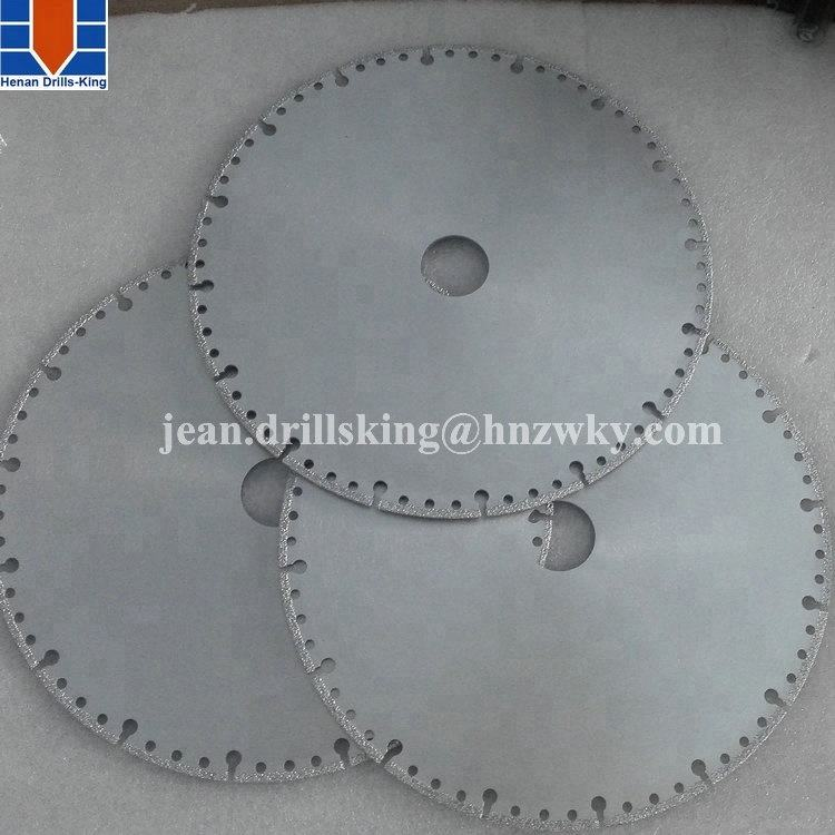 Factory cnc carving tools brazed diamond saw blade for ceramic tiles
