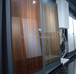 White melamine MDF / high gloss uv painted MDF