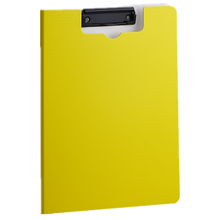 C-Line Clipboard Folder, Letter Size, Holds up to 75 Sheets  Color yellow