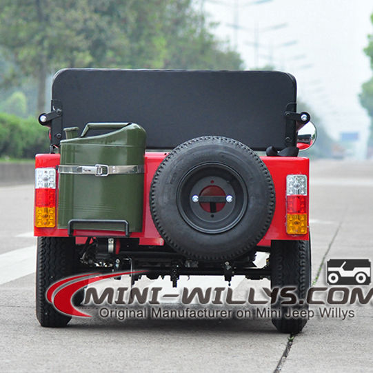 Gonfiabile Alimentato A Gas Mini ATV Mini <span class=keywords><strong>Moke</strong></span> <span class=keywords><strong>Auto</strong></span> Mini ATV Willys JW1101 per la Vendita