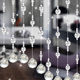High Quality Room Divider Hanging Heavy Crystal Beaded Curtain Door Beads
