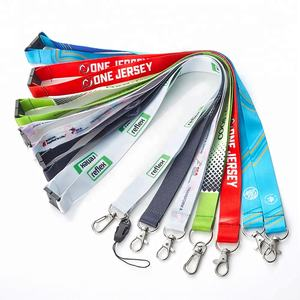 Dye Sublimation Printing/Heat Transfer Printing Polyester Cat Lanyards