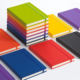 Wholesale A5 custom logo printing planner school supplies student pu leather notebook with elastic band bullet diary