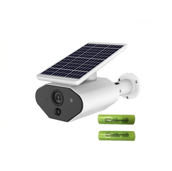 2MP IP66 Outdoor Battery Powered Wifi Solar Camera