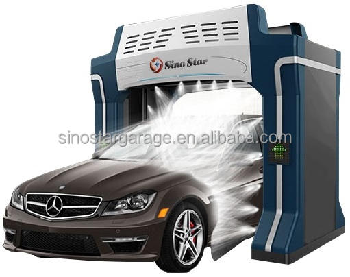Good quality waterless car washing machine/ roll over car wash machine price for luxury car(S7)