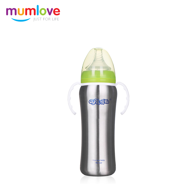 Hot Sales High End Online small quantity order usa manufacturers stainless steel baby feeding bottle