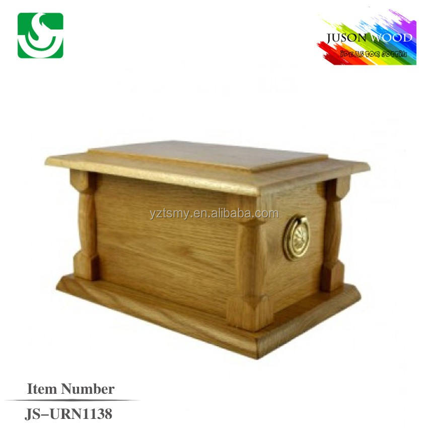 JS-URN1138 best selling wooden funeral urn for ashes