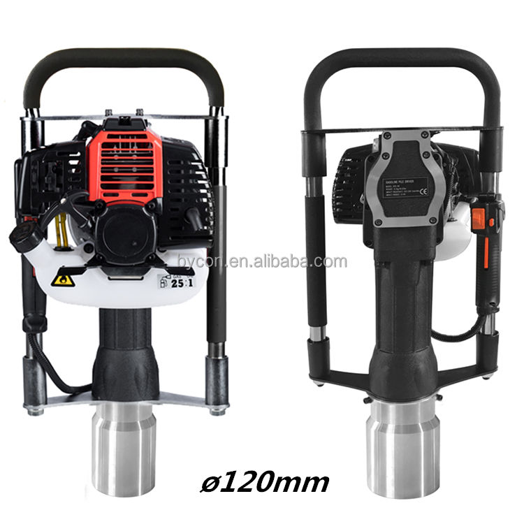 CE 52cc 120mm petrol post driver / post pounder / post banger