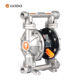 GODO QBY3-20/25 Stainless Steel Twin Diaphragm Pump / Fuel Pump Diaphragm