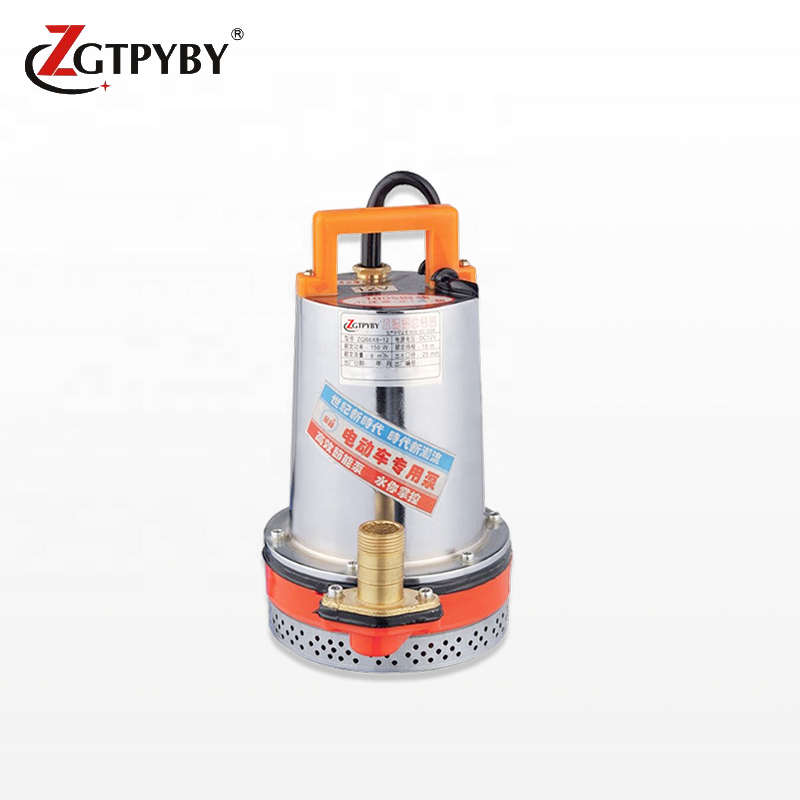 24v dc micro single stage marine bilge sewage water pump with high quality