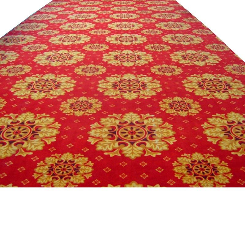 Machine Made Tufted Printed Wall to Wall Polyester Carpet
