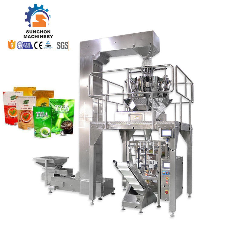 Good Performance Tea Bag Filling Sealing Round Tea Pouch Leaves Packing Machine Packaging