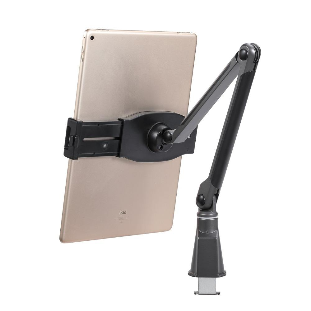Flexible tablet holder stand mount