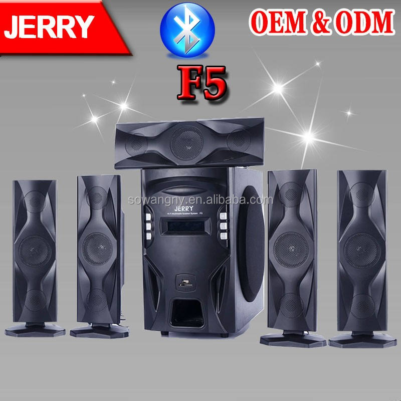 Mp3 Music Instrumental 5.1 JR Subwoofer Super Home Theater Amplifier Sound Syetem Manufactory Wholesale Best Prices
