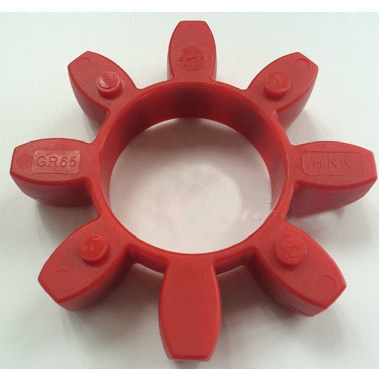 Curved Jaw Spider Coupling Insert 98 SHORE GR75 RED