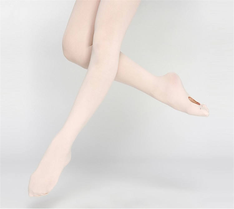 Hot Sale High Quality Free Sample Women Girls Pink Convertible Tights Ballet