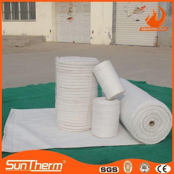 Тепловая материал изоляции волокна шерсти огнеупорный ткань