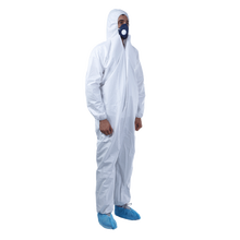 50gsm Microporous Waterproof Industrial Disposable Protective Coverall