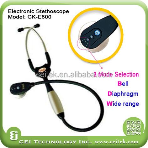 sıcak satış elektronik sağlık kliniği stetoskop fiyat