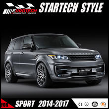 HOT HIGH QUALITY car styling Startech style bodykit for rangrover sport 2014-on pp material wide bodykit