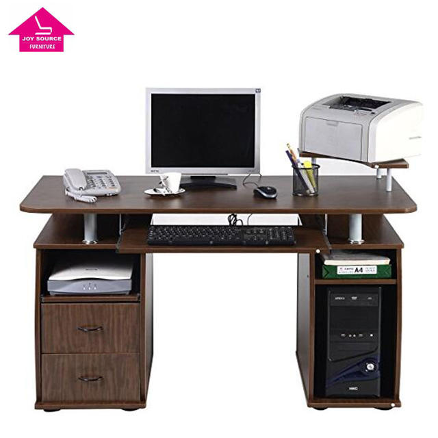 Cheap Price Office Computer Working Table with Drawer Desk