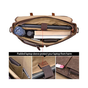 Canvas shoulder bag fashion messenger bag borsa a tracolla da uomo