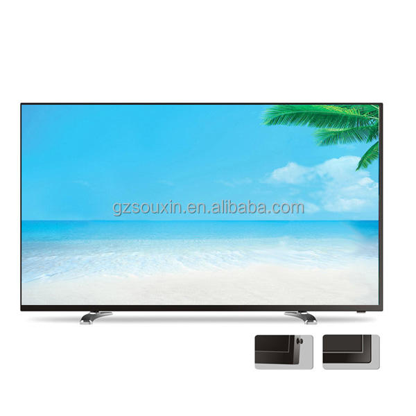 "50""60""80 inch ultra slim 3D smart flat televinsion 4K led/lcd tv for hotel home"