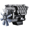 330kw water-cooled four stroke 6-cylinder V-engine Deutz BF 6 M 1015 CP diesel engine