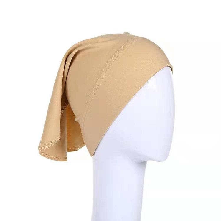 Yiwu Factory Cheap Classic Underscarf Cotton Bonnet Indonesia Hijab Cap Inner