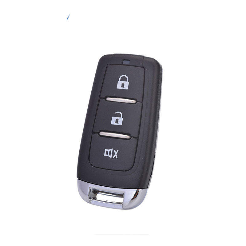 Universal Wireless Car Alarm System 433Mhz 3 Botton Remote Control Transmitter