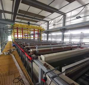 automatic metal electroplating line / plating equipment / Chrome rack or zinc barrel plating plant