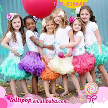 Hot sale! baby fluffy pettiskirts girl's tutu skirts pettiskirt chiffon tutu skirt girls skirts children tutu dress