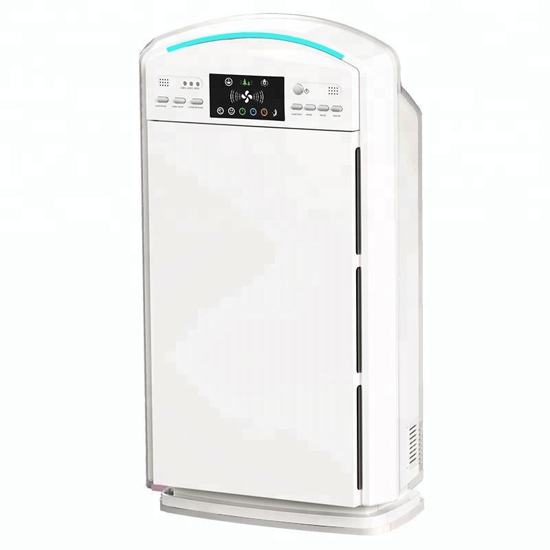 Best design high flow intelligent ionizer air purifier for commercial use