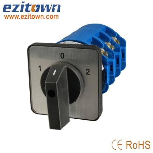 Ezitown brand china factory dictory sale LW28 manual changeover switch 3 step selector switch