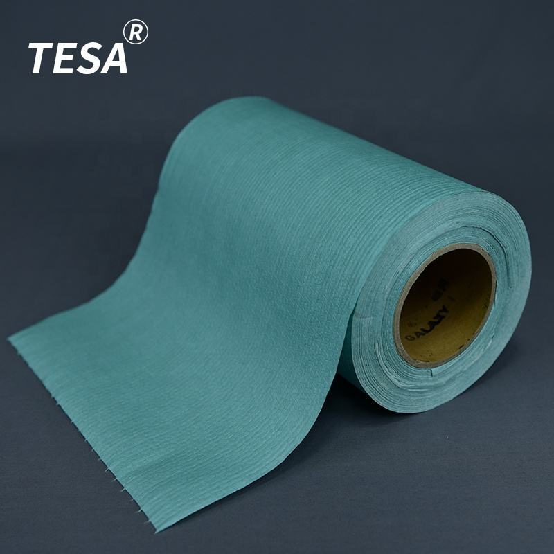 56gsm/60gsm/65gsm En Relief Polycell Airlaid Industriel Microfibre Tissu Petit Chiffon D'essuyage