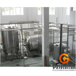 Stainless steel machine 300L honey processing production plant